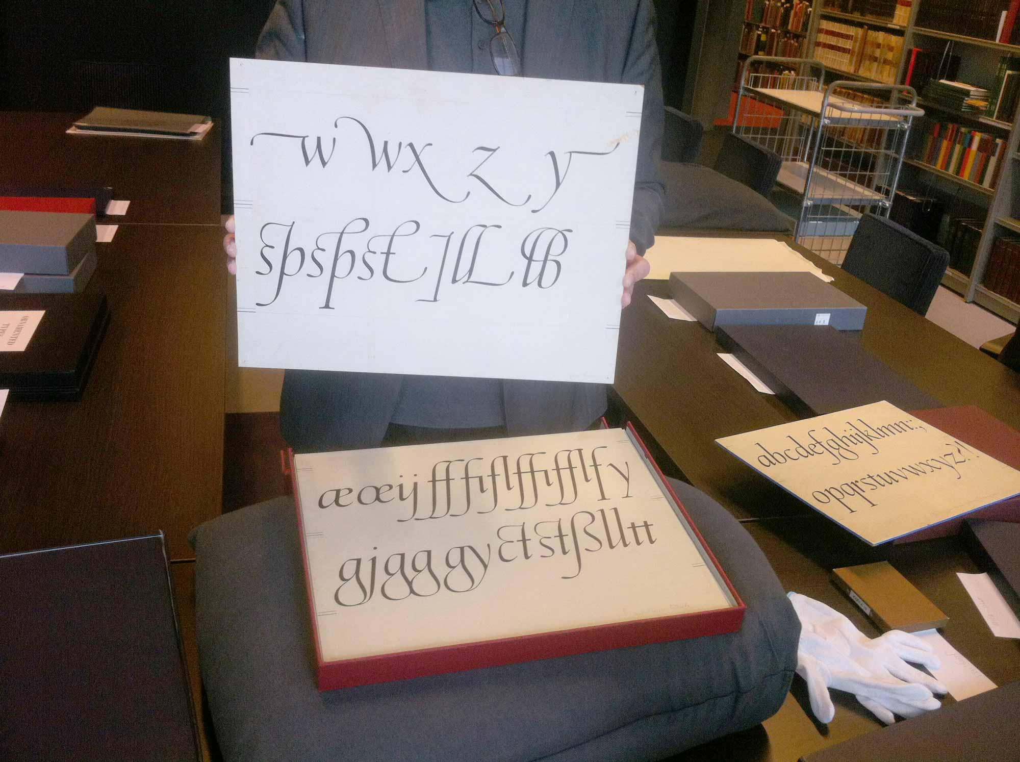 Lost Type at the Amsterdam archive