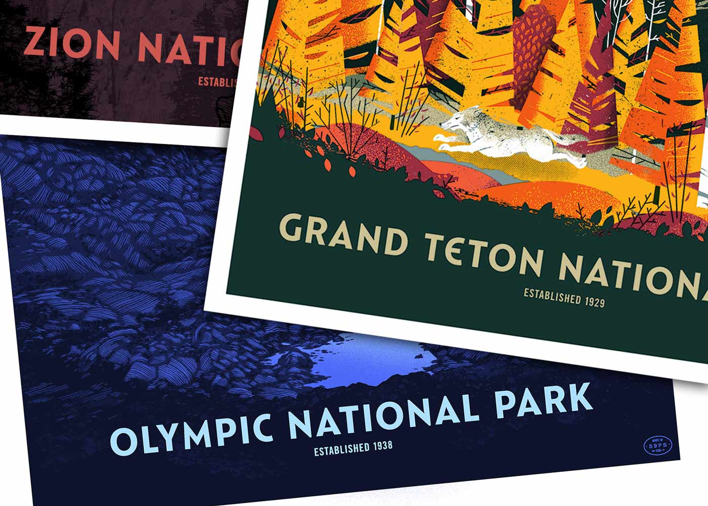 Custom Type: Catlin Sans for 59 Parks • Lost Type Co-op Blog